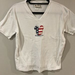 American Flag Mickey Disney Shirt